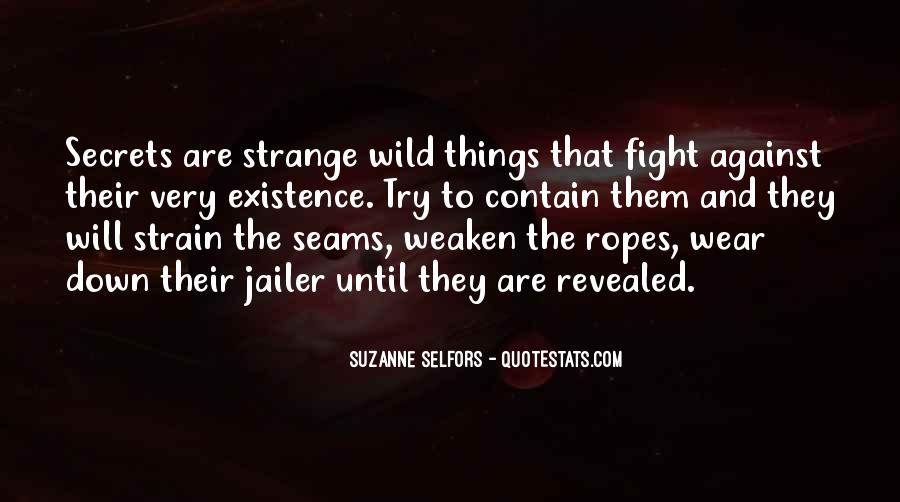 No Secrets Not Revealed Quotes #975889