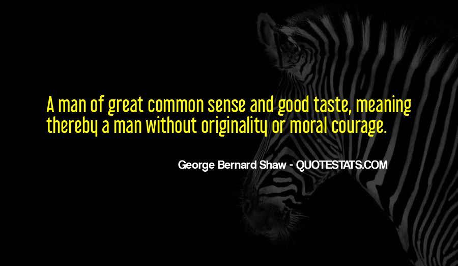 No Sense Of Originality Quotes #245567