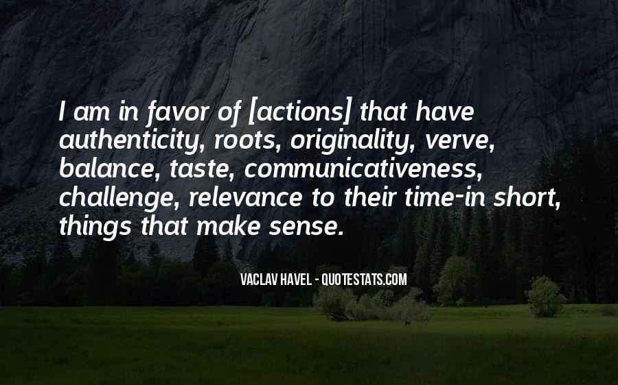 No Sense Of Originality Quotes #317312