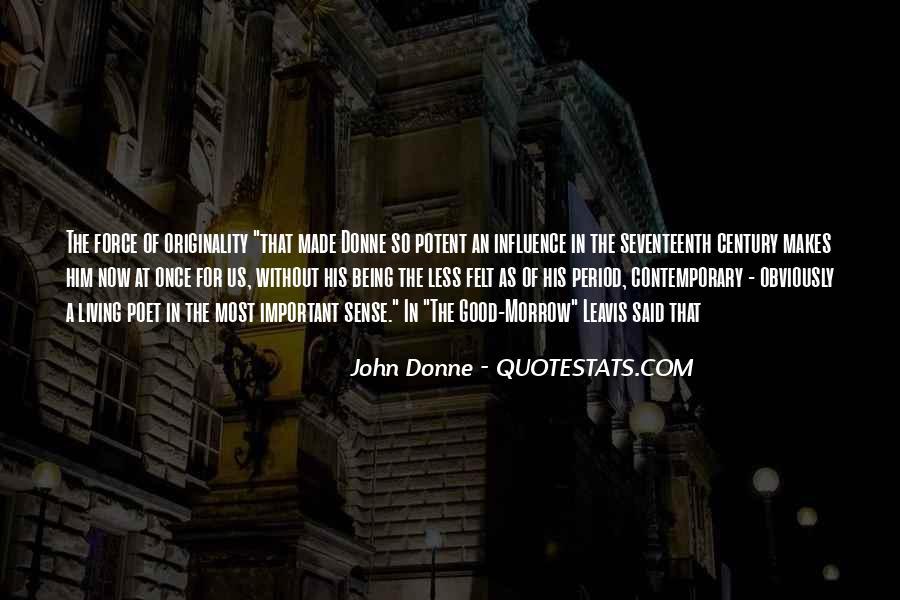 No Sense Of Originality Quotes #486720