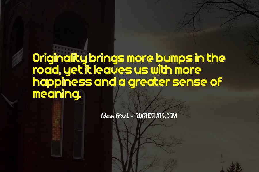No Sense Of Originality Quotes #717717