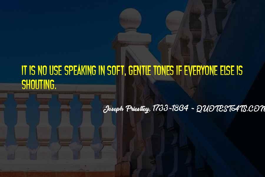 No Shouting Quotes #1042881