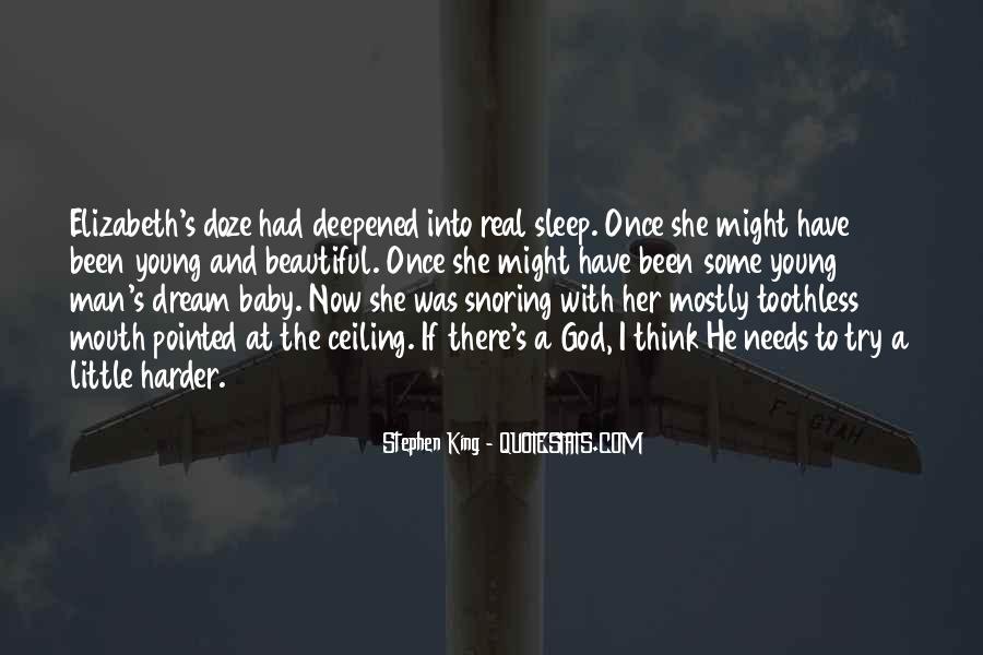 No Sleep Baby Quotes #1170334