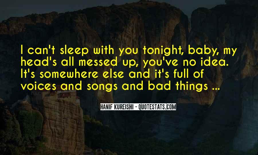 No Sleep Baby Quotes #692431