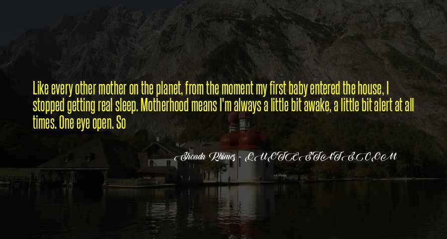 No Sleep Baby Quotes #755177