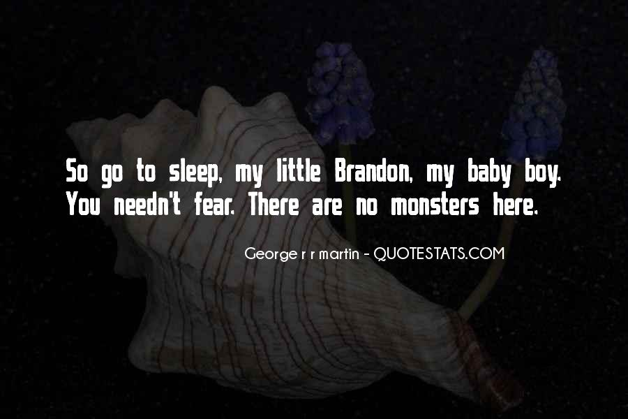 No Sleep Baby Quotes #778642