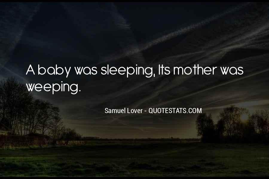 No Sleep Baby Quotes #857328