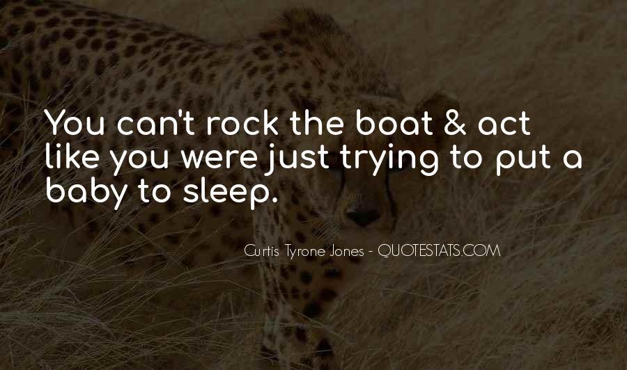 No Sleep Baby Quotes #889558