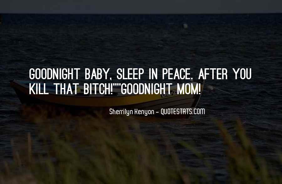 No Sleep Baby Quotes #894344