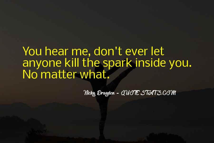 No Spark Quotes #1827162