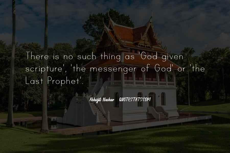 No Such Thing As God Quotes #695145