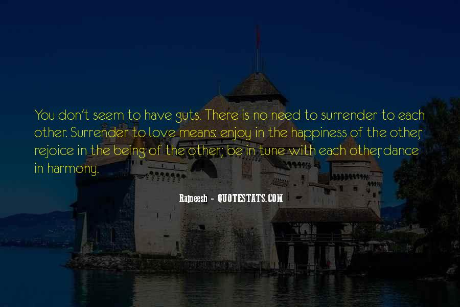 No Surrender Love Quotes #100404