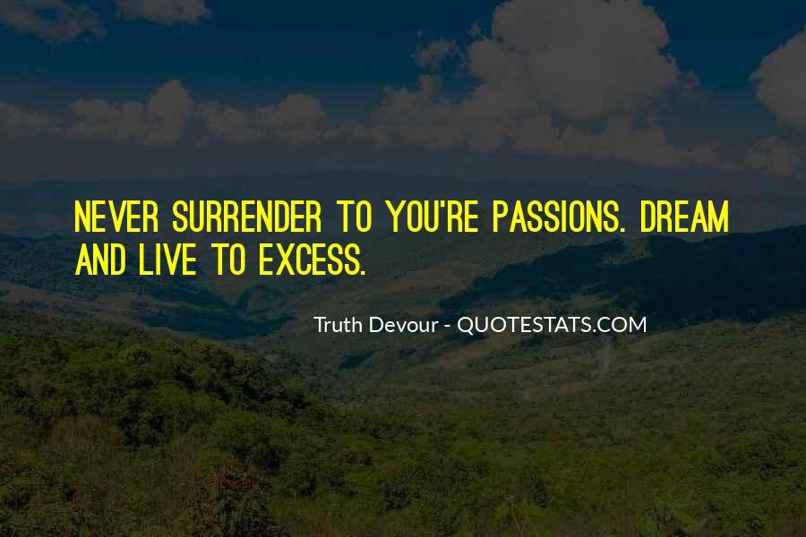 No Surrender Love Quotes #101918
