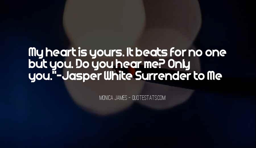 No Surrender Love Quotes #1148757
