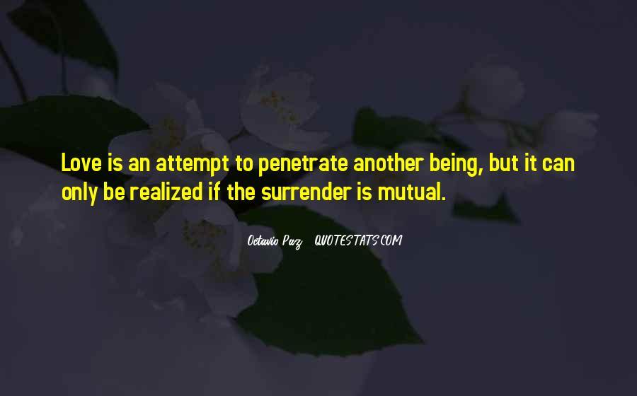 No Surrender Love Quotes #128646