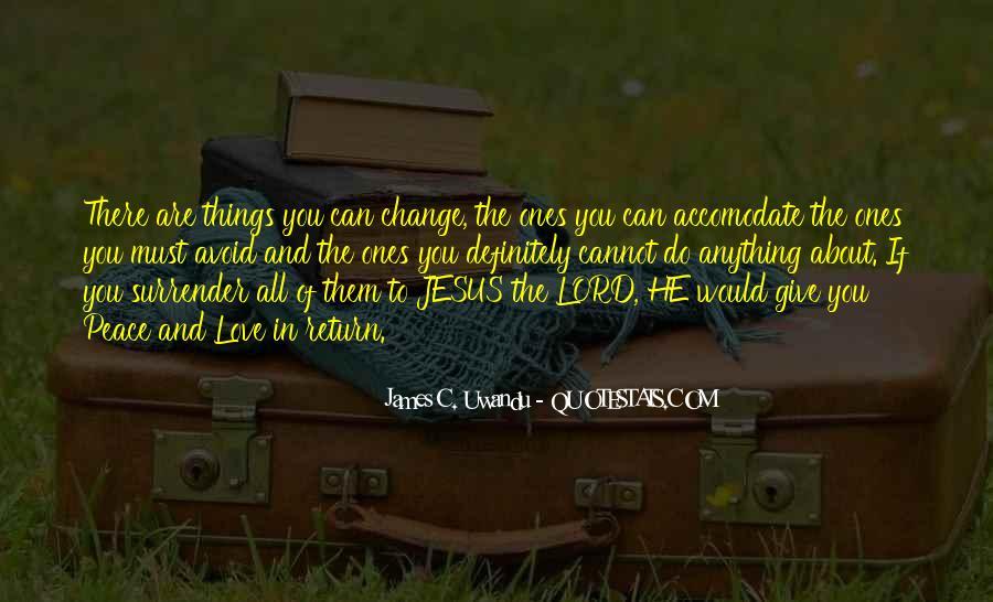 No Surrender Love Quotes #157012