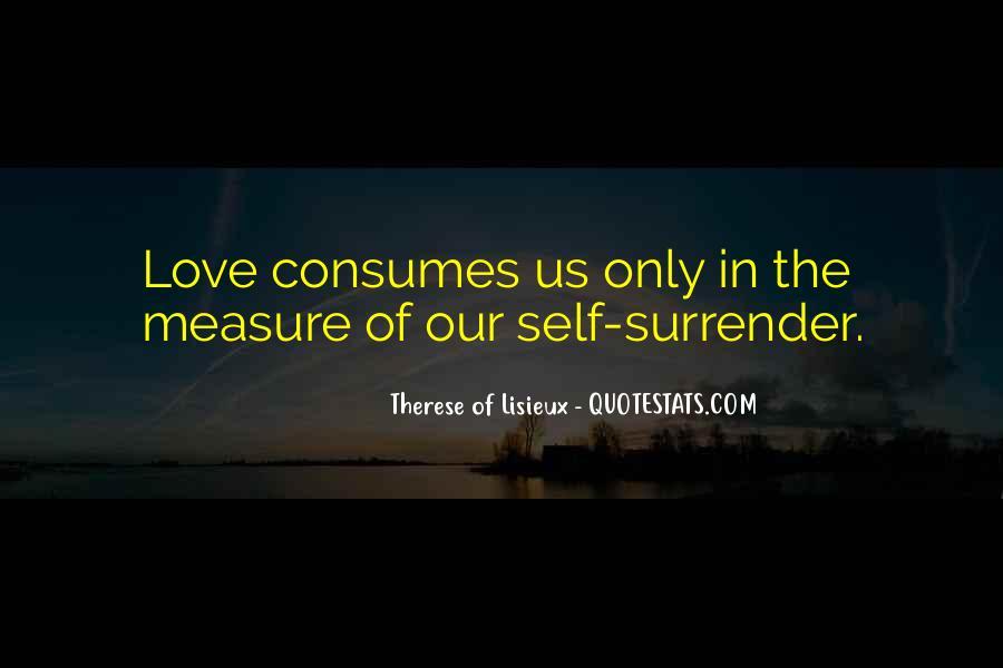 No Surrender Love Quotes #274906