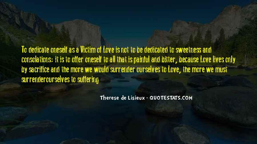 No Surrender Love Quotes #315612