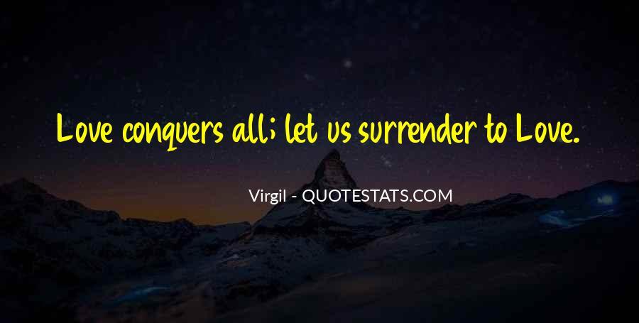 No Surrender Love Quotes #348196