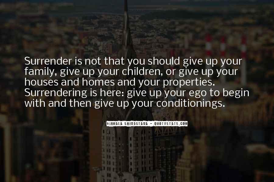 No Surrender Love Quotes #392885