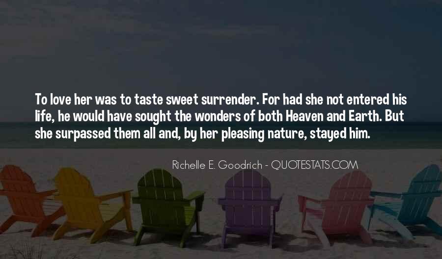 No Surrender Love Quotes #50665