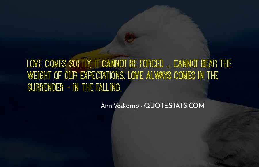 No Surrender Love Quotes #57282