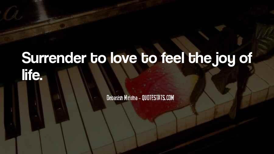 No Surrender Love Quotes #6937