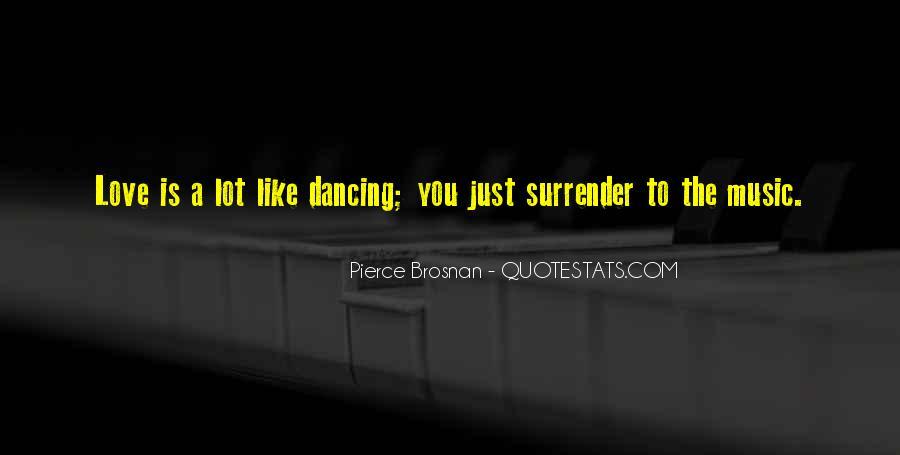 No Surrender Love Quotes #71660