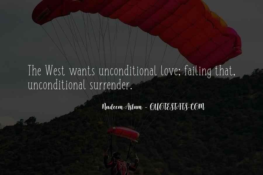 No Surrender Love Quotes #74621