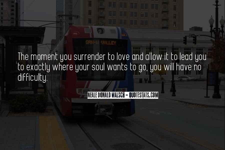 No Surrender Love Quotes #762425