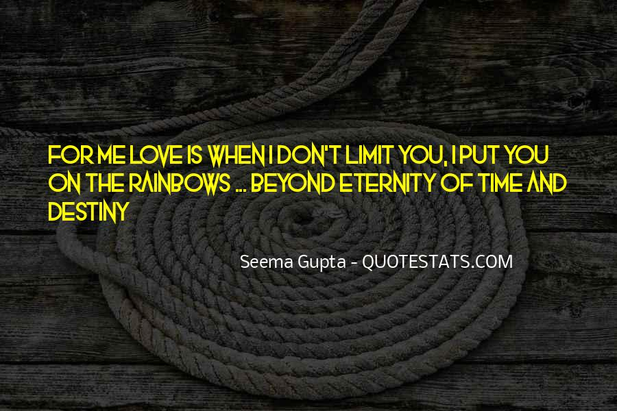 No Time Limit On Love Quotes #1754686