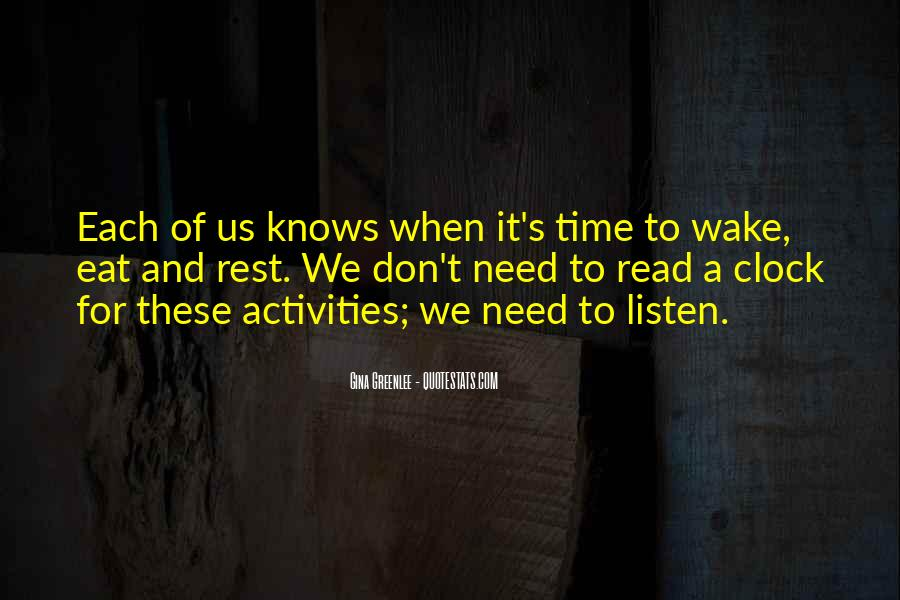 No Time To Rest Quotes #142767