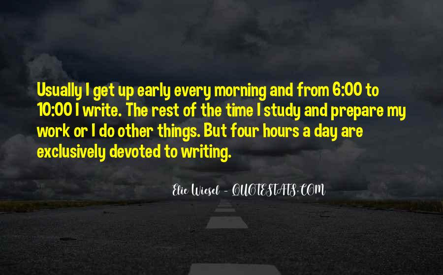No Time To Rest Quotes #52047