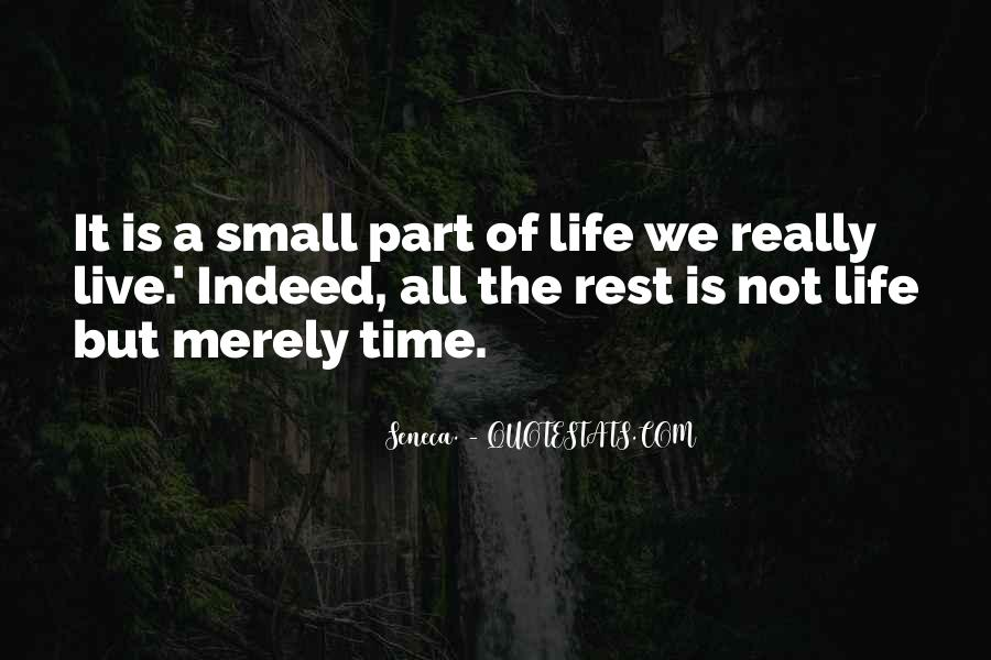 No Time To Rest Quotes #59312
