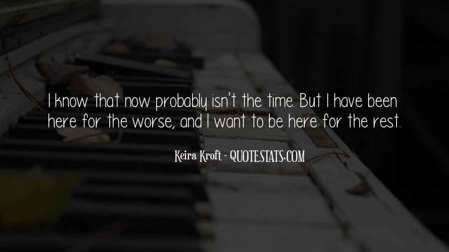 No Time To Rest Quotes #83862