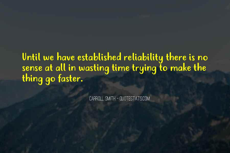 No Time Wasting Quotes #287880