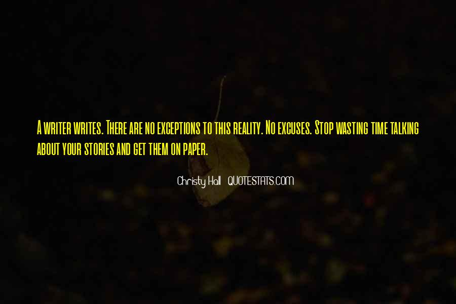 No Time Wasting Quotes #602722