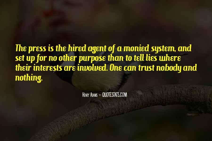 No Trust Nobody Quotes #1180125