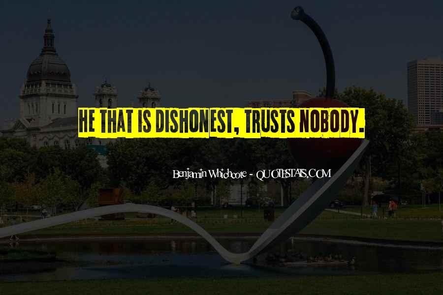 No Trust Nobody Quotes #503583