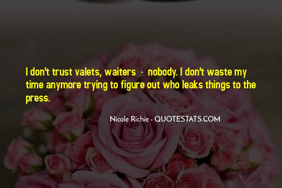 No Trust Nobody Quotes #764833