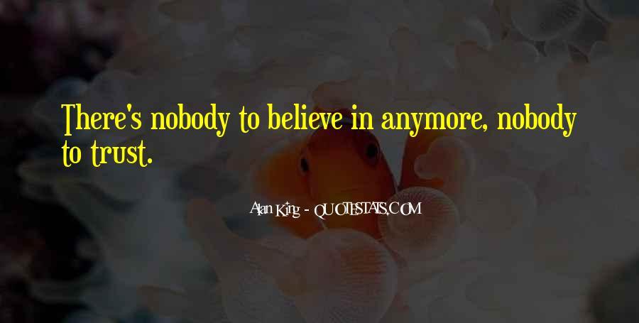 No Trust Nobody Quotes #812685