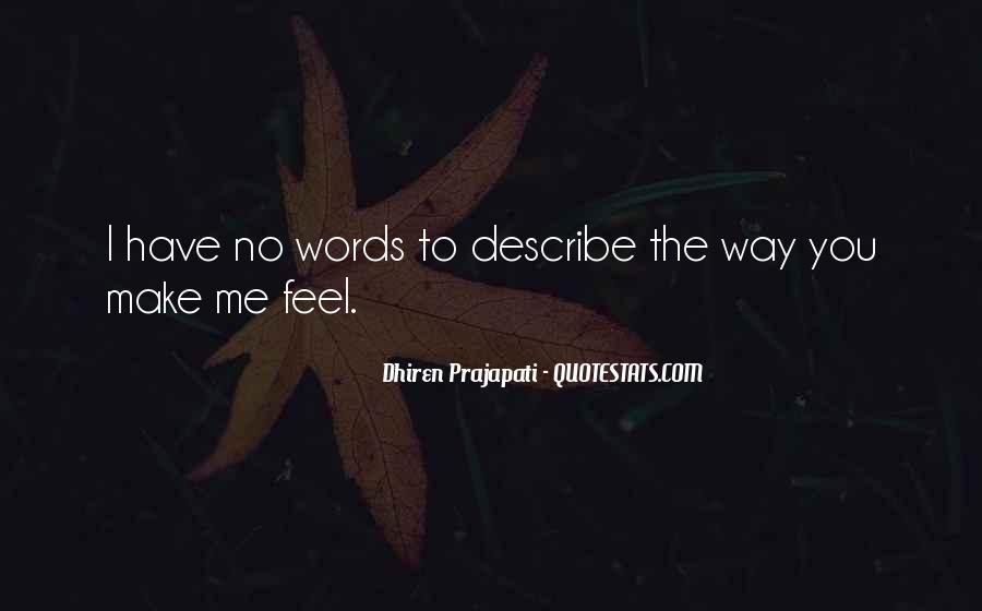 No Words Describe Quotes #1104868