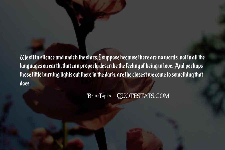 No Words Describe Quotes #1345728