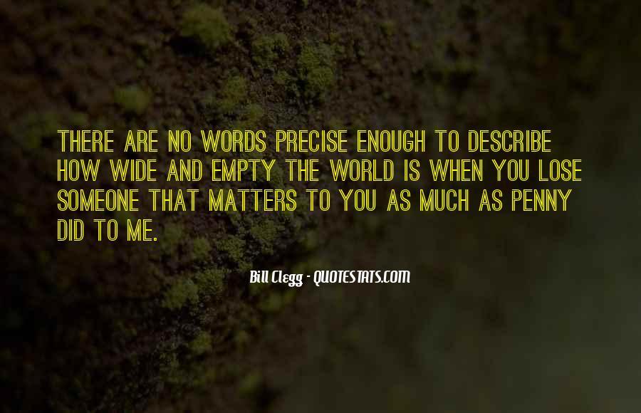 No Words Describe Quotes #553441