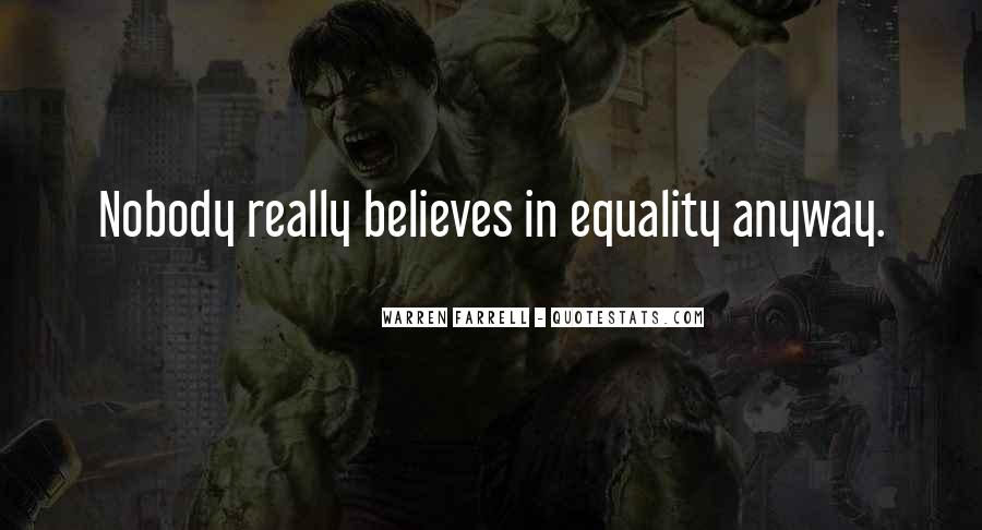 Nobody Believes In You Quotes #107969