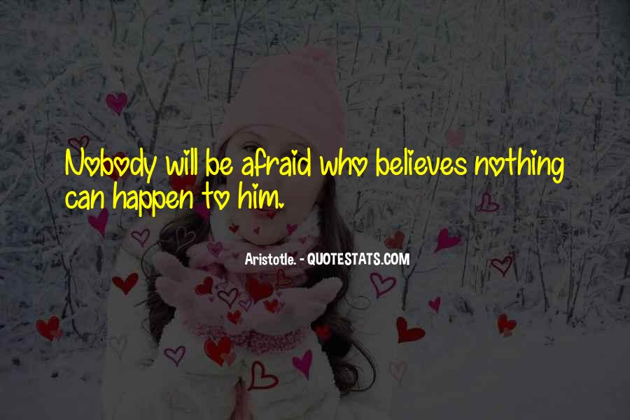 Nobody Believes In You Quotes #1197652