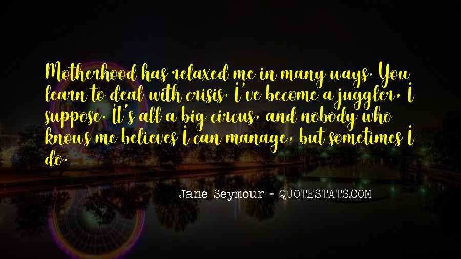 Nobody Believes In You Quotes #1711488
