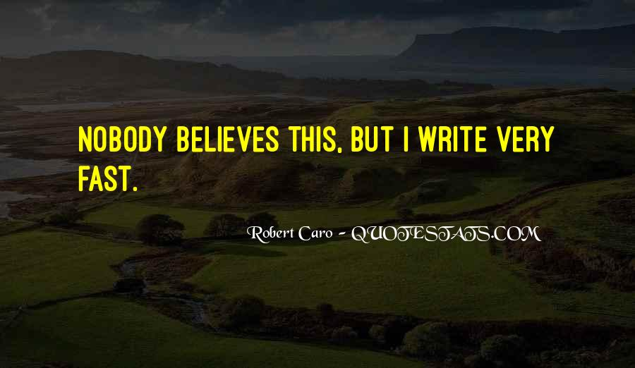 Nobody Believes In You Quotes #294260