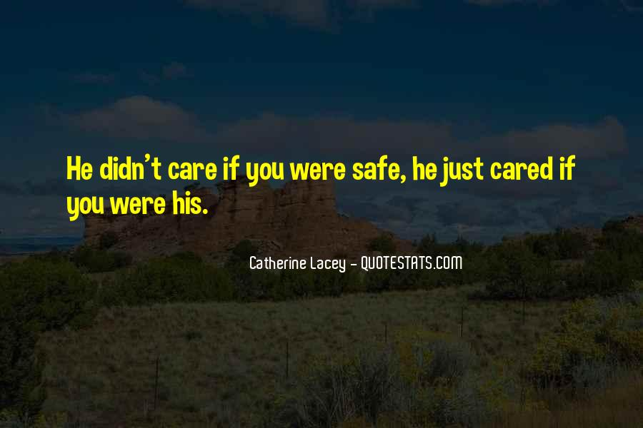 Nobody Cared For Me Quotes #1203214