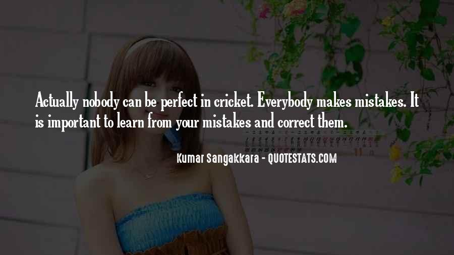 Nobody Is Perfect But Quotes #305253